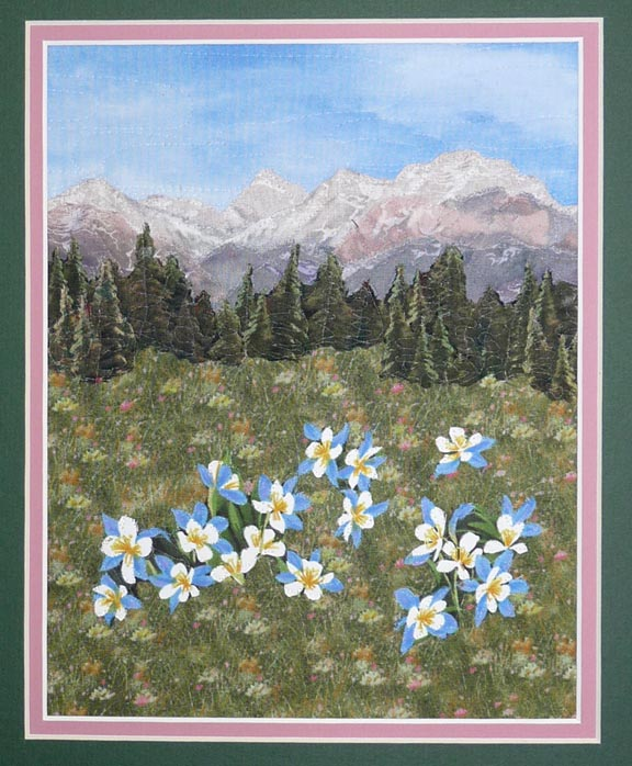 Quilts by JVC ..||.. PATTERNS - Litte Landscape Mountain ... : mountain quilts - Adamdwight.com